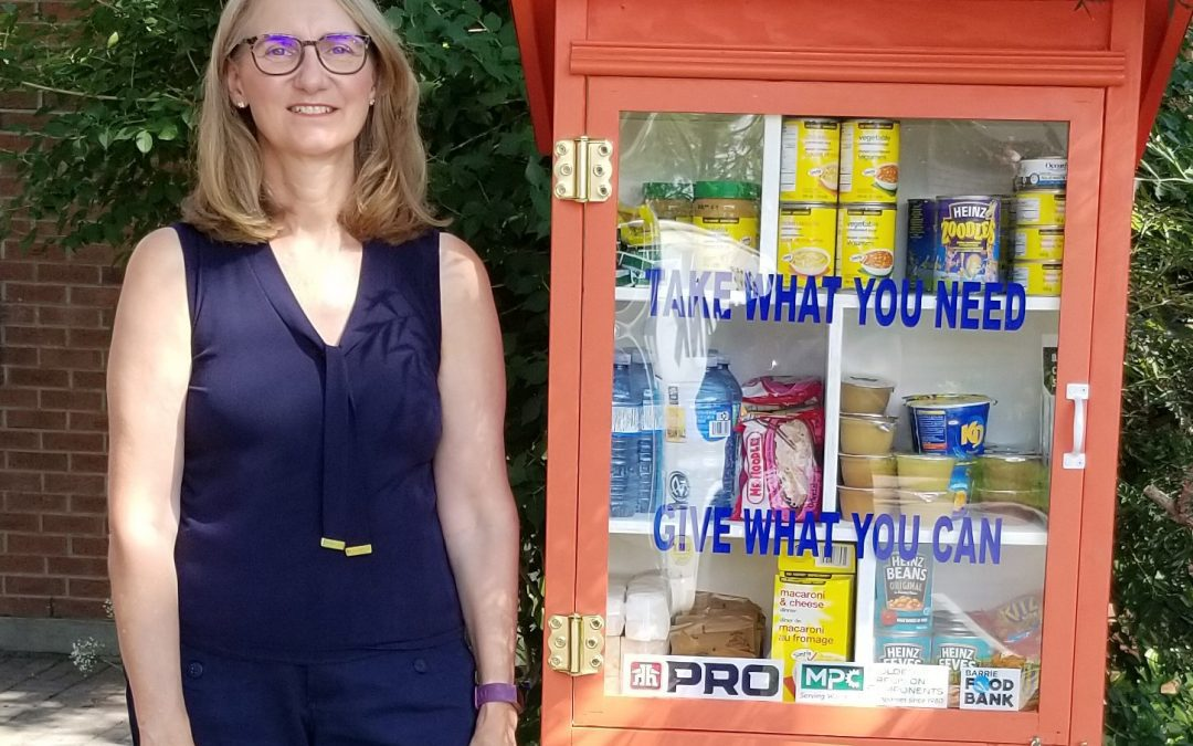 Little Pantry with Sharon Barrie Food Bank